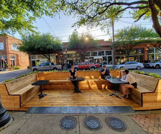 Ministerial Support for Outdoor Dining and Parklets