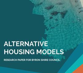 Alternative Housing Models, Byron Shire & City of Moreland