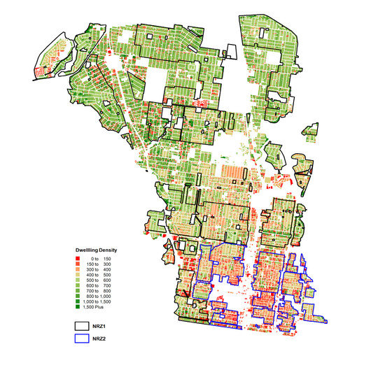 Advisory Committee Submission, Moreland Residential Zones