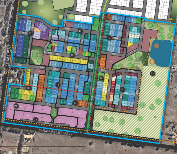 Residential Subdivision Botanical,  Lindum Vale
