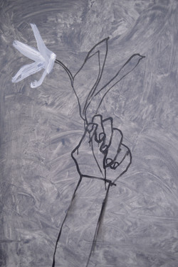 Hand with Flower, 2017