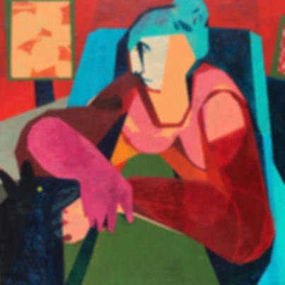 HELEN OPREY, THE LOVE OF A DOG, 101CM X