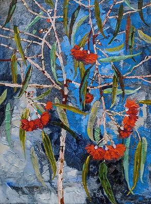 Winter Gum Arrangement 46 x 61 oil 1950.