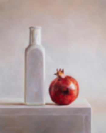 Dennison_PomegranateandWhiteBottle_Oilon