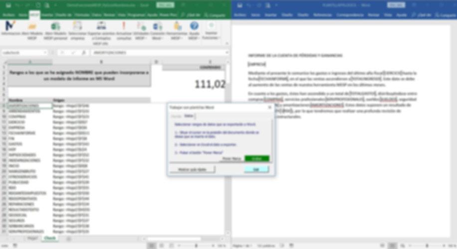 Vinclar Excel y Word