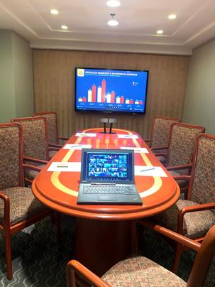 Salones para reuniones corporativas.