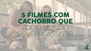 5 filmes sobre cachorro que todo mundo deveria assistir