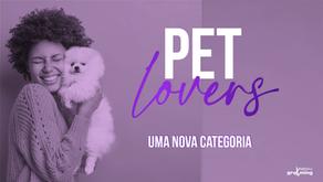 Nova Categoria no Site - Pet Lovers