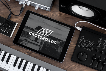 ipad-mockup-surrounded-by-musical-equipm