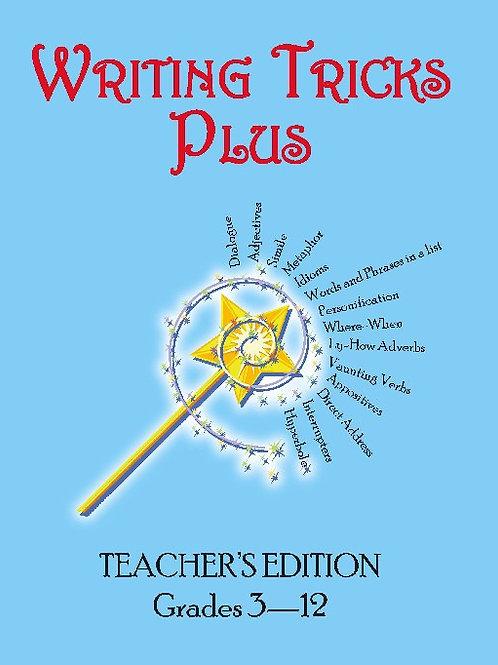 Writing Tricks Plus: Teachers Edition