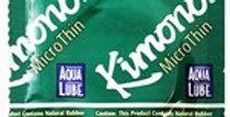 KIMONO MICROTHIN AQUALUBE CONDOMS