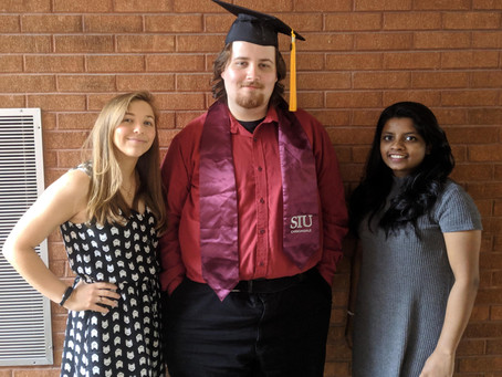 Blaze and Kaitlyn do a graduate!