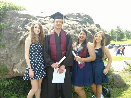 Han and Bran do a graduate!