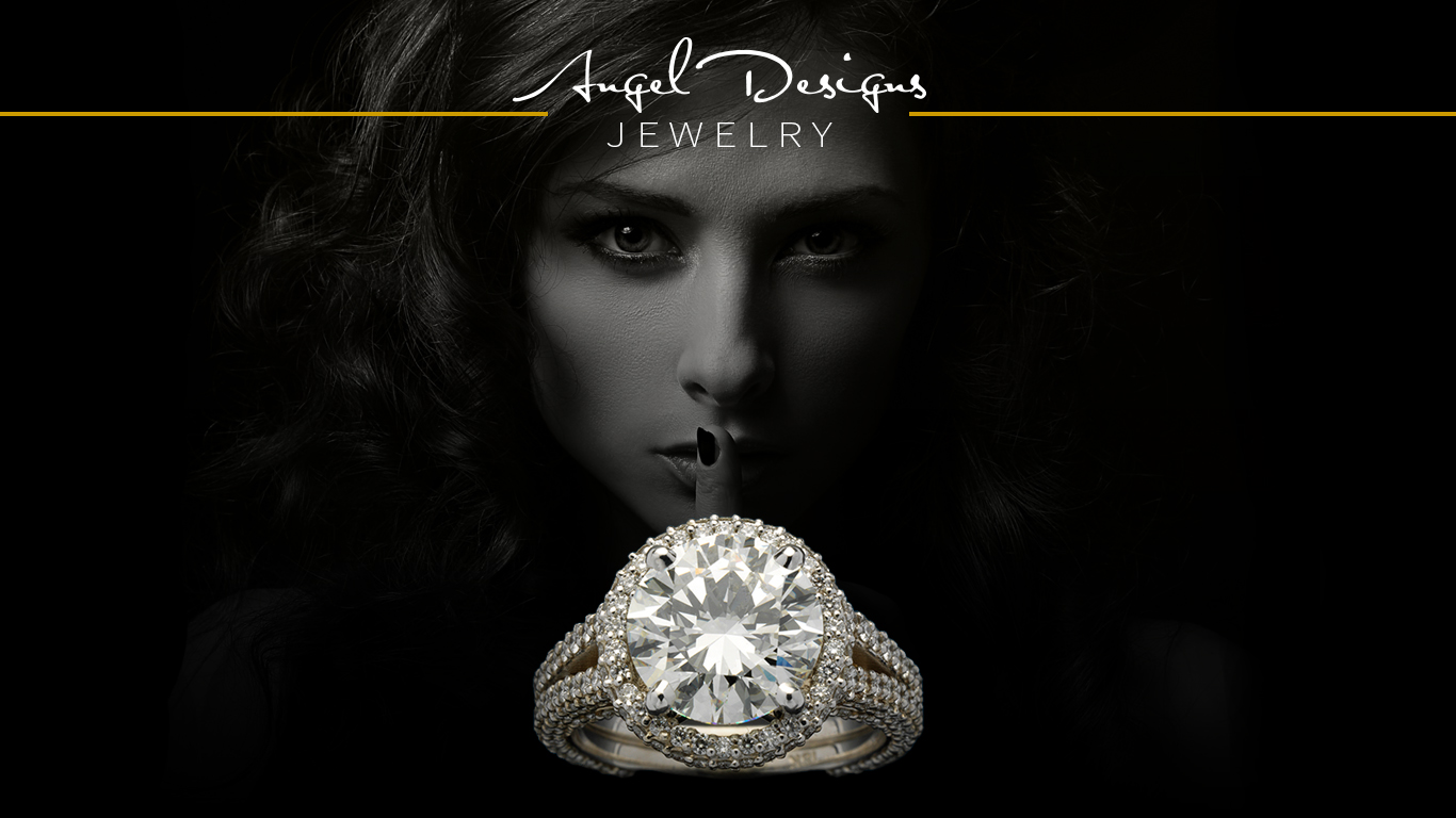 Angel Designs Jewelry Poster=