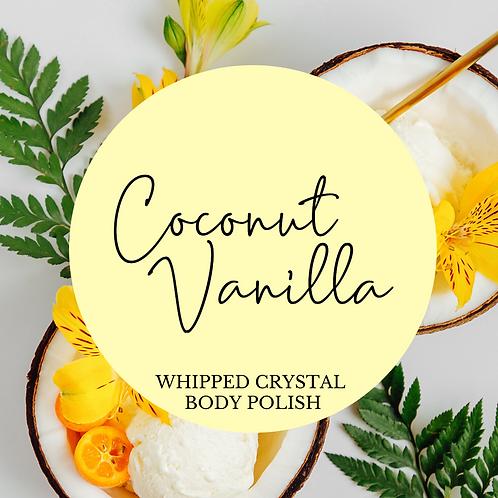 Coconut Vanilla Whipped Crystal Body Polish & Skin Conditioner