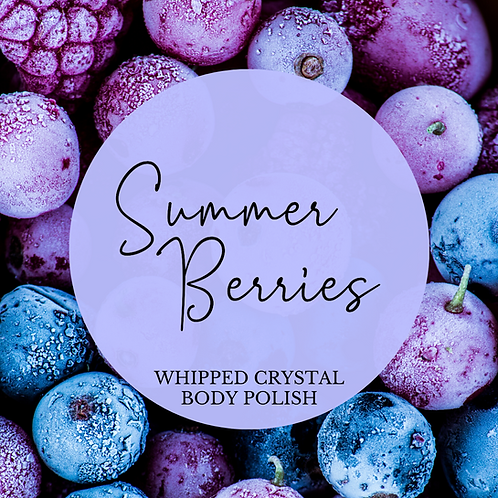 Summer Berries Whipped Crystal Body Polish & Skin Conditioner