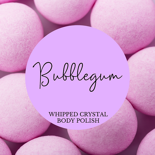 Bubble Gum Whipped Crystal Body Polish & Skin Conditioner