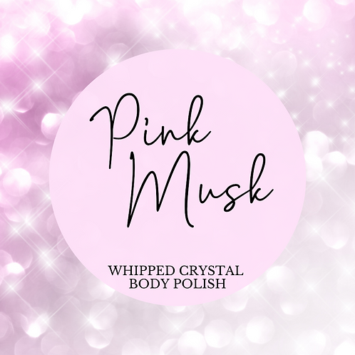 Pink Musk Whipped Crystal Body Polish & Skin Conditioner
