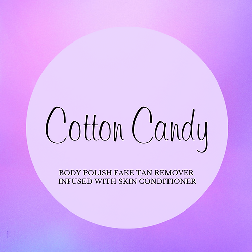 Cotton Candy Whipped Crystal Body Polish & Skin Conditioner