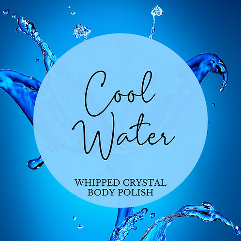 Cool Water Whipped Crystal Body Polish & Skin Conditioner