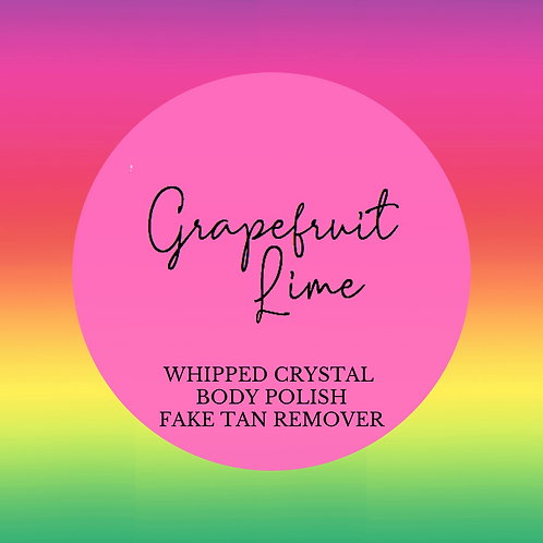 Grapefruit Lime Natural Nourish Body Polish with Skin Conditioner