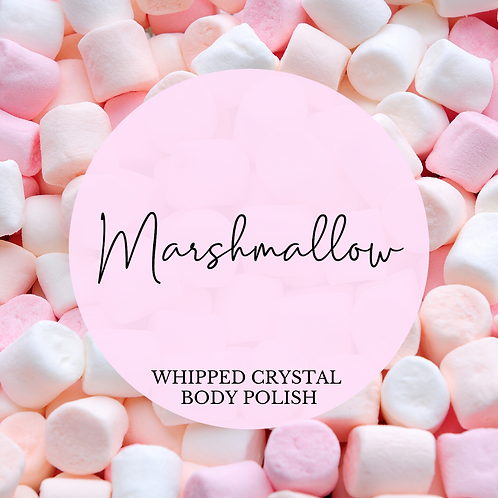 Marshmallow Whipped Crystal Body Polish & Skin Conditioner