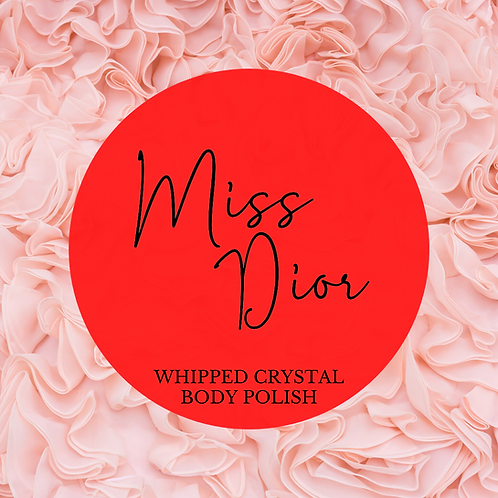 Miss Dior  Whipped Crystal Body Polish & Skin Conditioner
