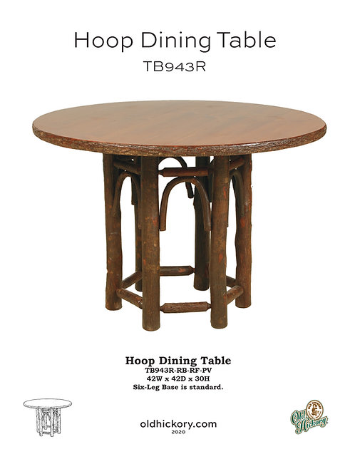 Hoop Dining Table - TB943R