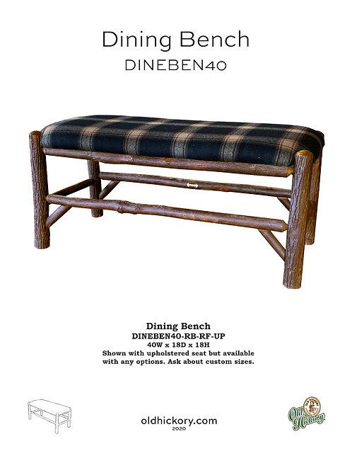 Dining Bench - DINEBEN40