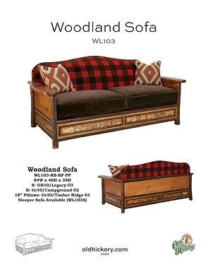 Woodland Sofa - WL103