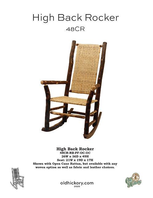 High Back Rocker - 48CR
