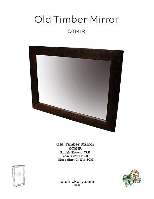 Old Timber Mirror - OTMIR