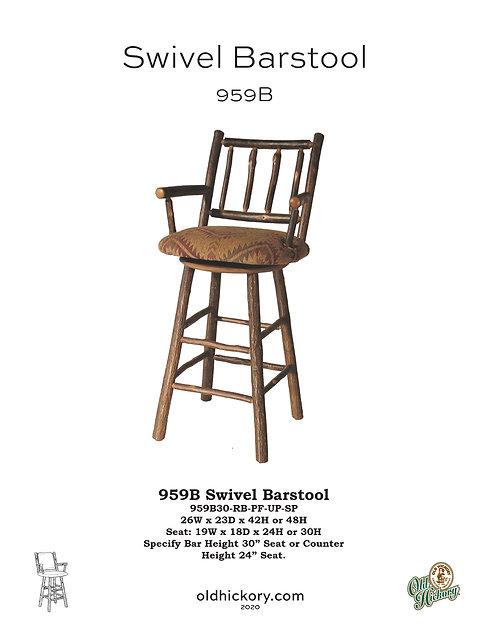 959B Swivel Barstool