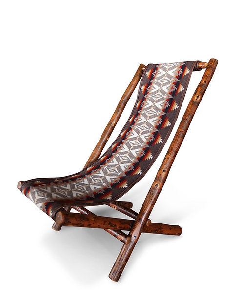 Lolo Chair with Pendleton's Pacific Crest Fabric