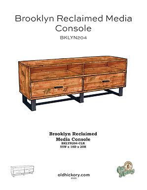 Brooklyn Reclaimed Media Console - BKLYN204