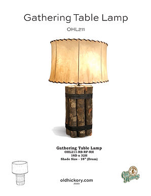 Gathering Table Lamp - OHL211