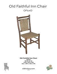 """""""Old Faithful Inn"""" Chair - OF64D"""