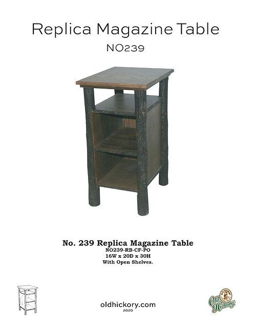 No. 239 Replica Magazine Table - NO239