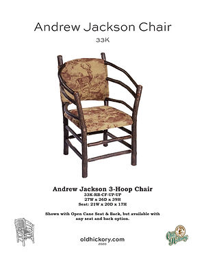 Andrew Jackson Chair - 33K