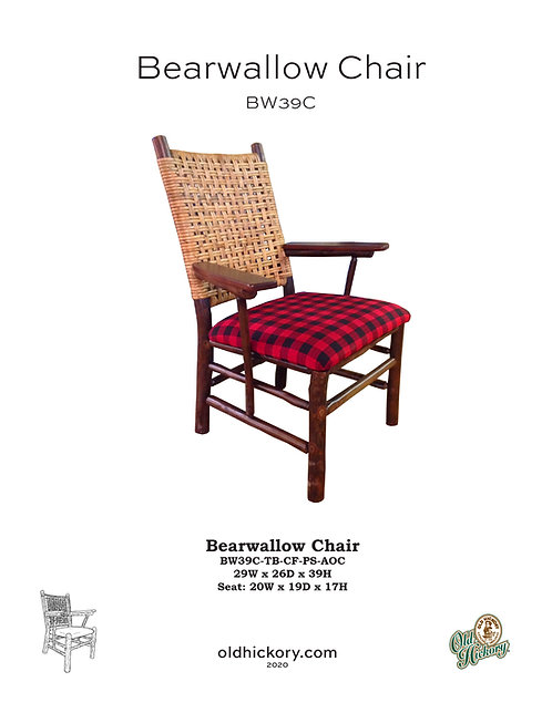 Bearwallow Arm Chair - BW39C