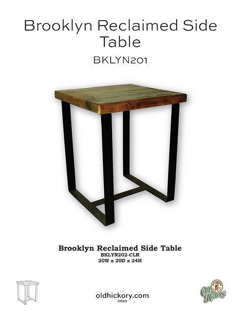 Brooklyn Reclaimed Side Table - BKLYN201