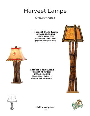 Harvest Lamps - OHL204/OHL304