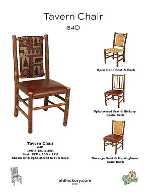 Tavern Chair - 64D
