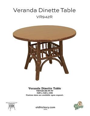 Veranda Dining Table - VR942