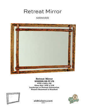 Retreat Mirror - MRMIRR