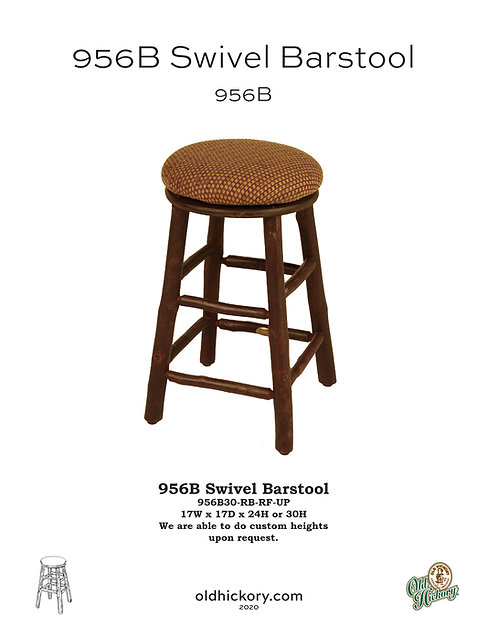 956B Swivel Barstool