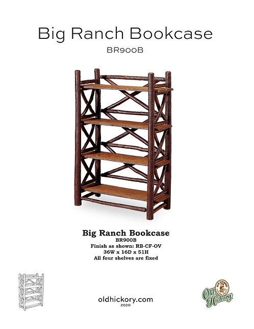 Big Ranch Bookcase - BR900B