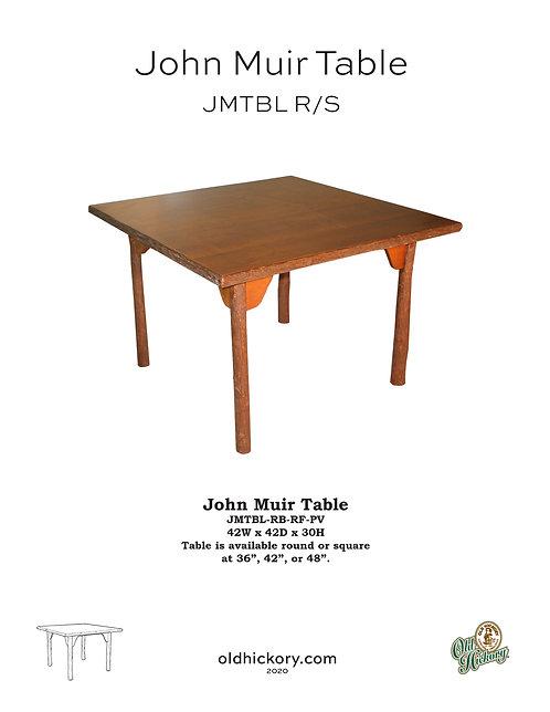 John Muir Dining Table - JMTBL R/S