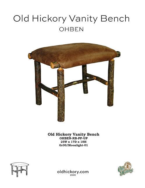 Vanity Bench - OHBEN