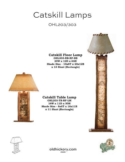 Catskill Lamps - OHL203/OHL303